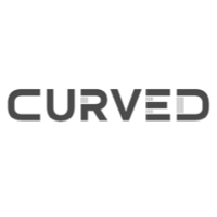 Curved logo